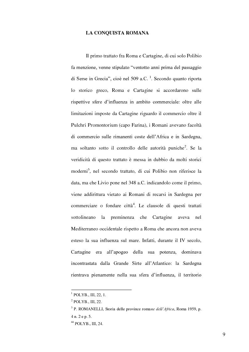 Anteprima della tesi: Le popolazioni non urbanizzate della Sardegna romana fra III sec. a.C. e IV sec. d.C., Pagina 10
