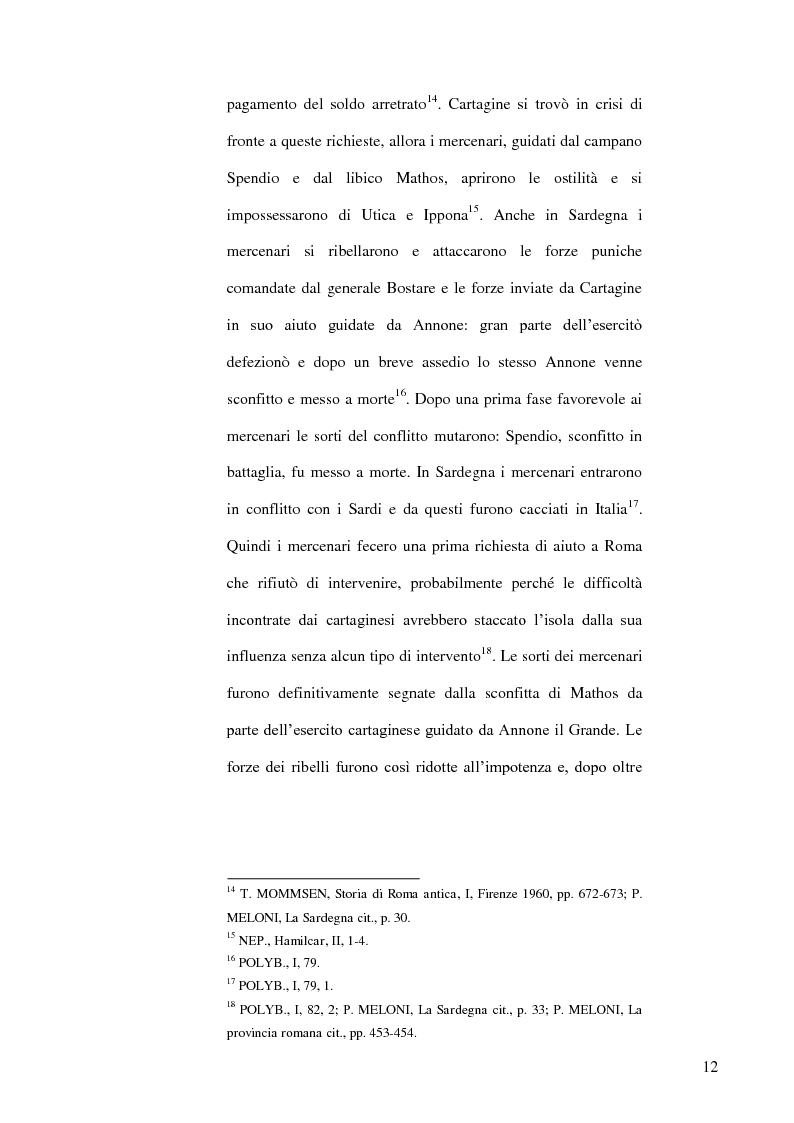 Anteprima della tesi: Le popolazioni non urbanizzate della Sardegna romana fra III sec. a.C. e IV sec. d.C., Pagina 13