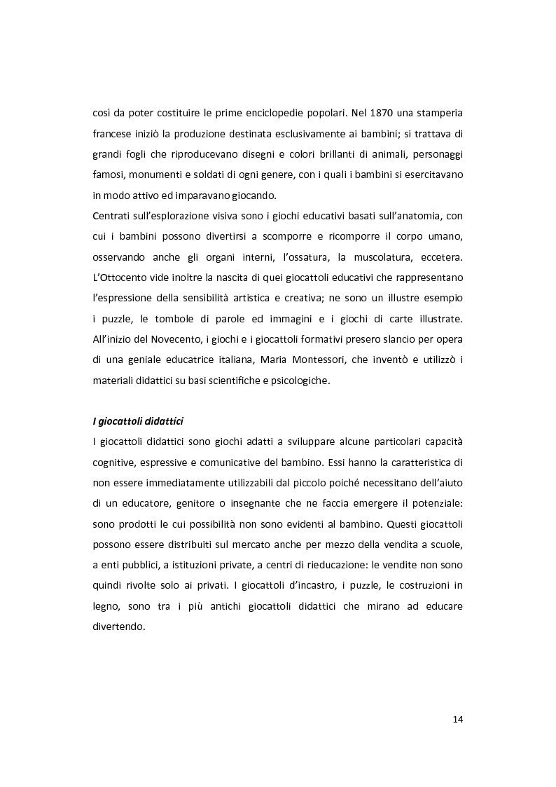 Anteprima della tesi: Il gioco come forma di socialità e interazione. Progetto Educational Ravensburger., Pagina 11