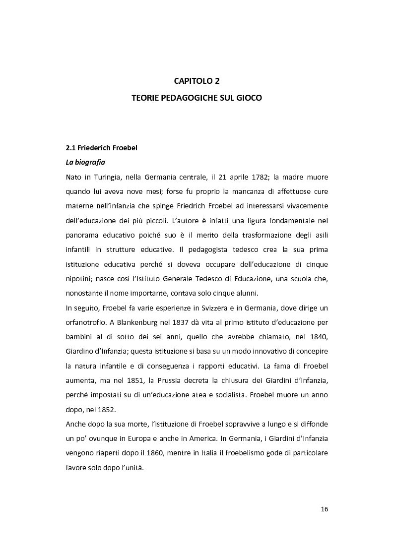Anteprima della tesi: Il gioco come forma di socialità e interazione. Progetto Educational Ravensburger., Pagina 13