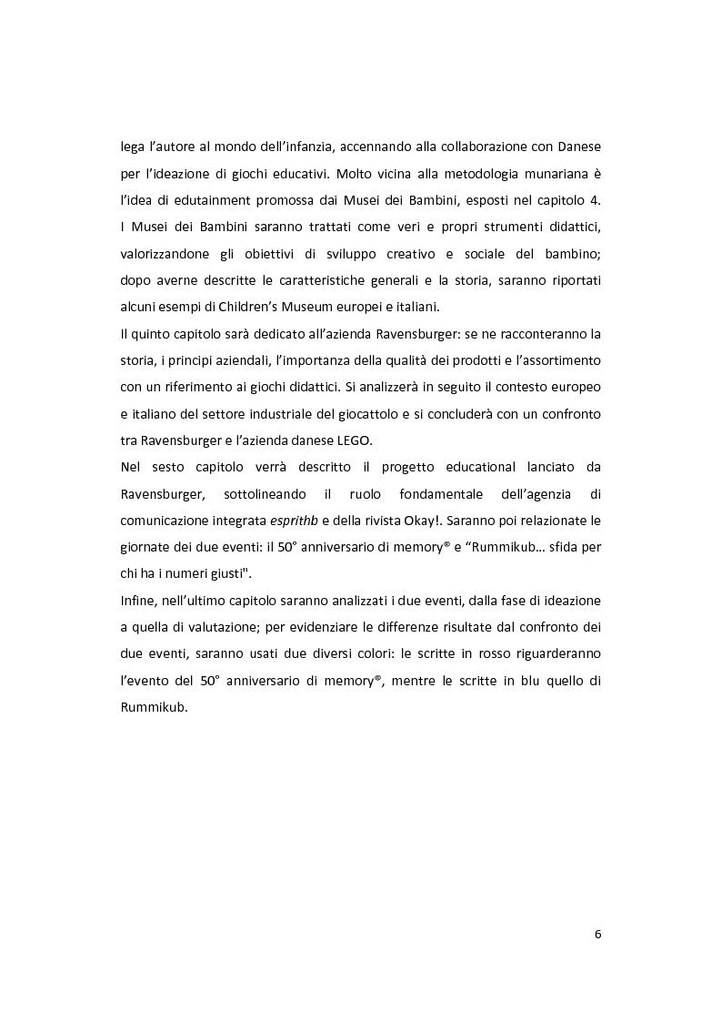 Anteprima della tesi: Il gioco come forma di socialità e interazione. Progetto Educational Ravensburger., Pagina 3