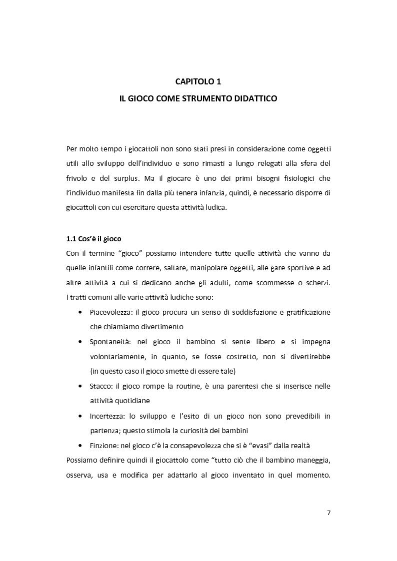 Anteprima della tesi: Il gioco come forma di socialità e interazione. Progetto Educational Ravensburger., Pagina 4