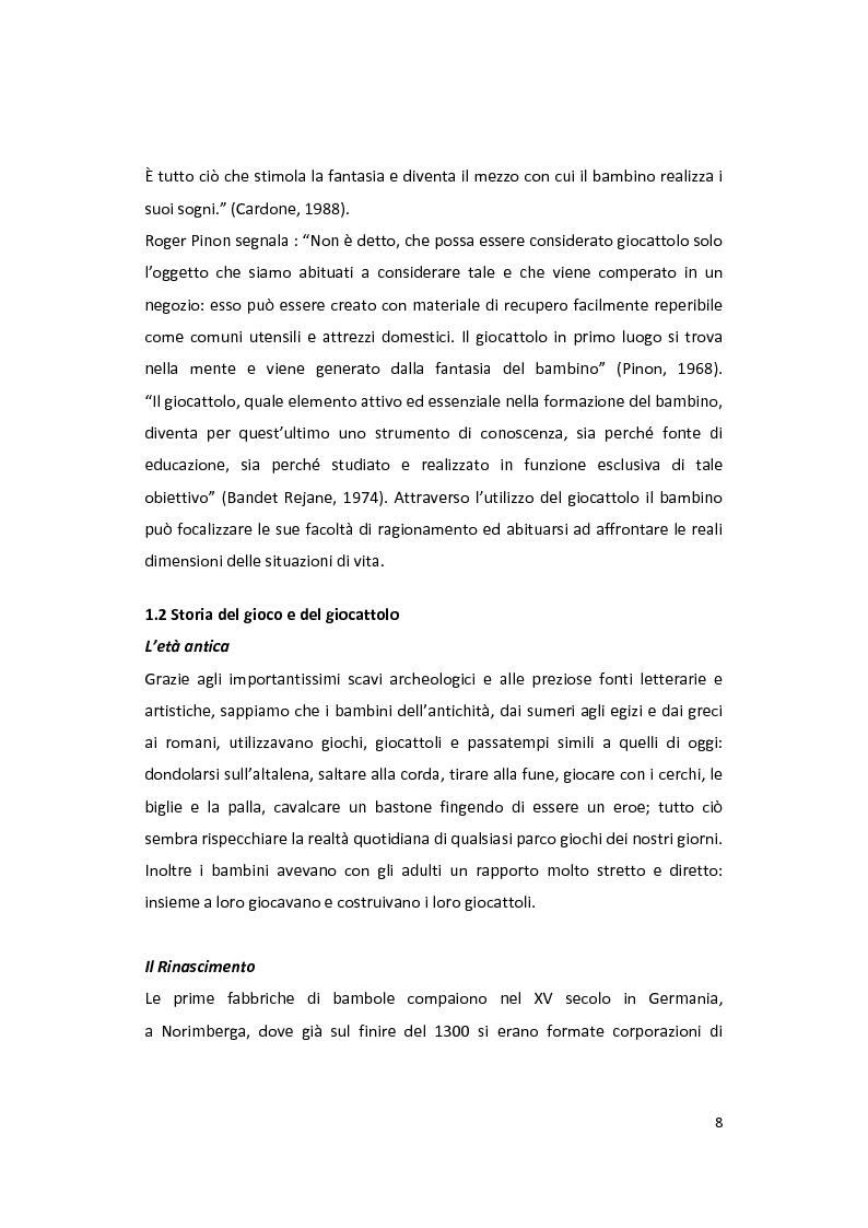 Anteprima della tesi: Il gioco come forma di socialità e interazione. Progetto Educational Ravensburger., Pagina 5