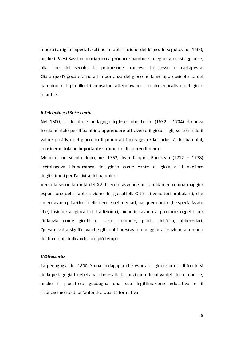 Anteprima della tesi: Il gioco come forma di socialità e interazione. Progetto Educational Ravensburger., Pagina 6
