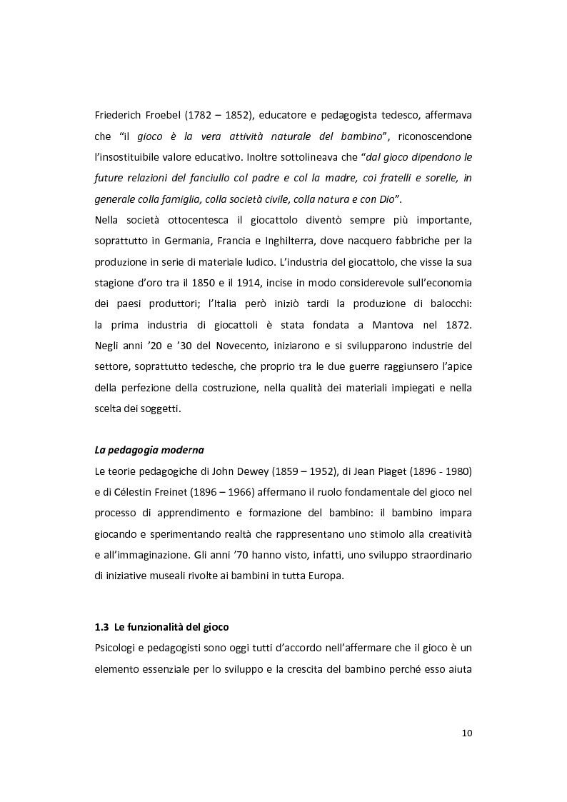 Anteprima della tesi: Il gioco come forma di socialità e interazione. Progetto Educational Ravensburger., Pagina 7