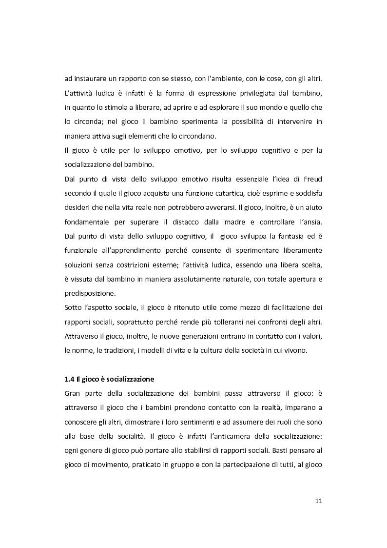 Anteprima della tesi: Il gioco come forma di socialità e interazione. Progetto Educational Ravensburger., Pagina 8