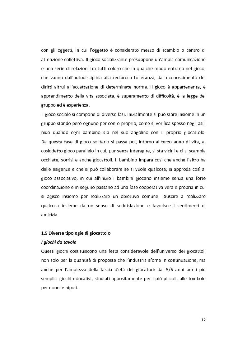 Anteprima della tesi: Il gioco come forma di socialità e interazione. Progetto Educational Ravensburger., Pagina 9