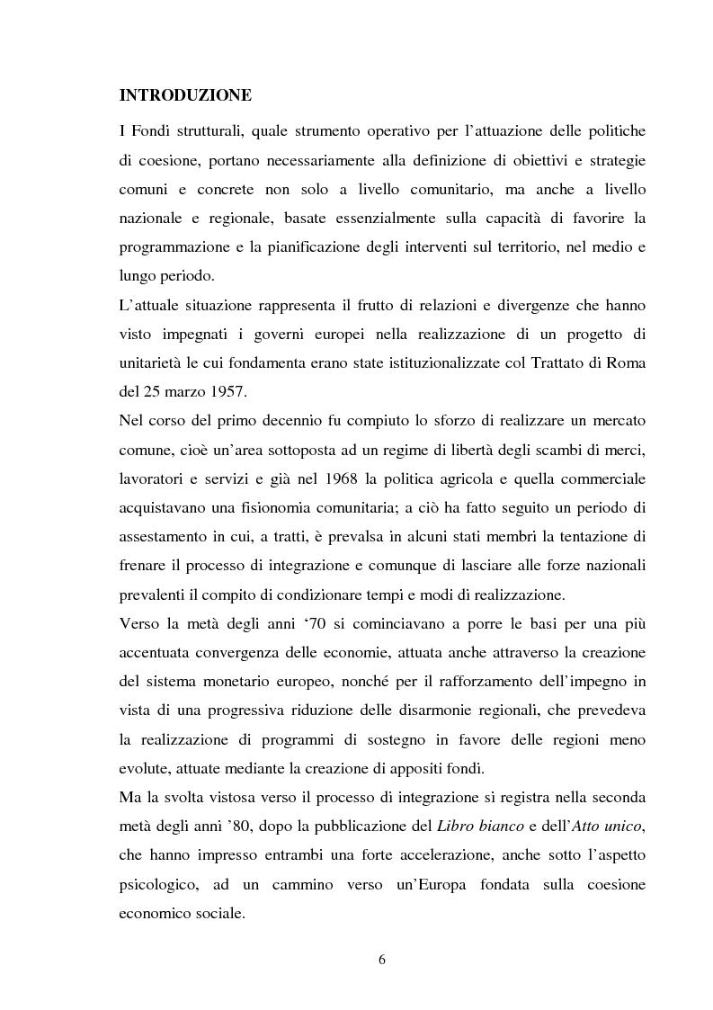 Anteprima della tesi: Le politiche strutturali della UE per il turismo, Pagina 2