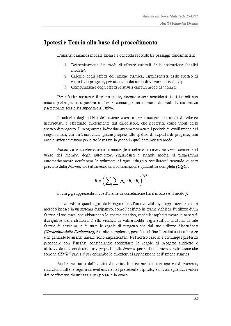 Anteprima della tesi: Analisi strutturali a confronto nella valutazione della vulnerabilità sismica di un edificio in acciaio e proposta di adeguamento sismico., Pagina 11