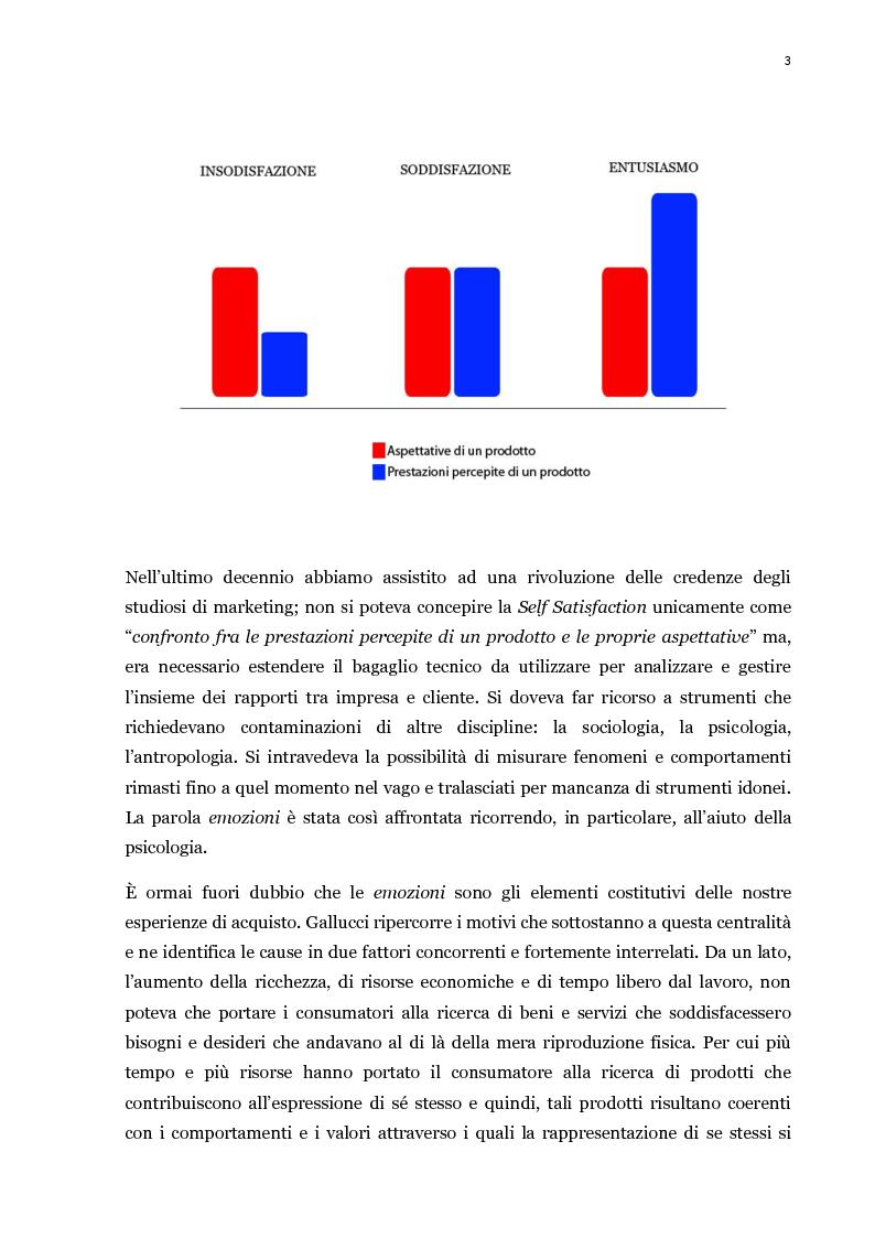 Anteprima della tesi: Il processo di acquisto del consumatore: la self-satisfaction, Pagina 3