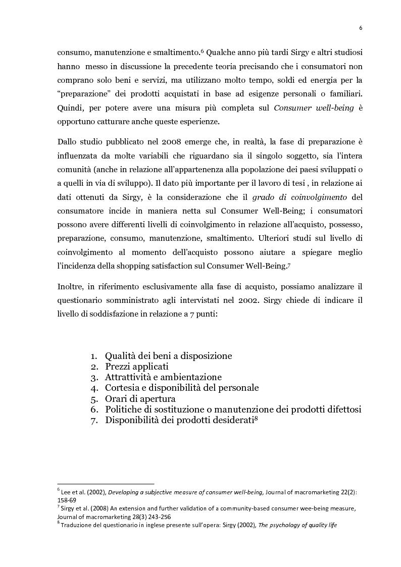 Anteprima della tesi: Il processo di acquisto del consumatore: la self-satisfaction, Pagina 6