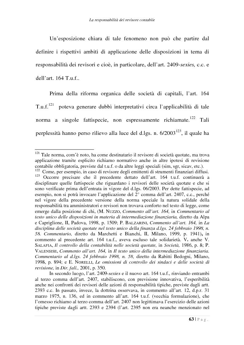 Anteprima della tesi: La responsabilità del collegio sindacale e del revisore contabile, Pagina 3