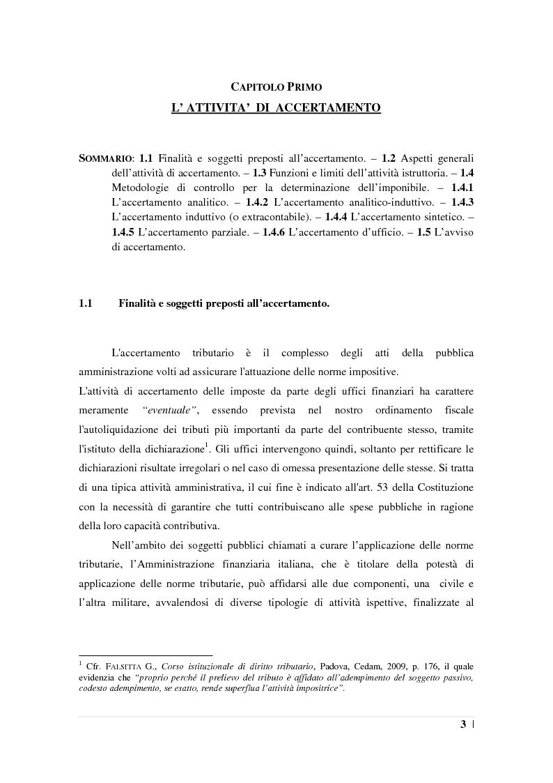 Anteprima della tesi: L'accertamento con adesione, Pagina 4