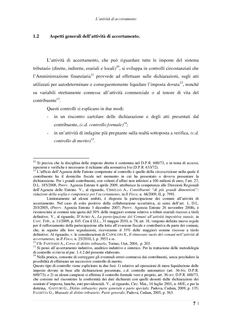 Anteprima della tesi: L'accertamento con adesione, Pagina 8