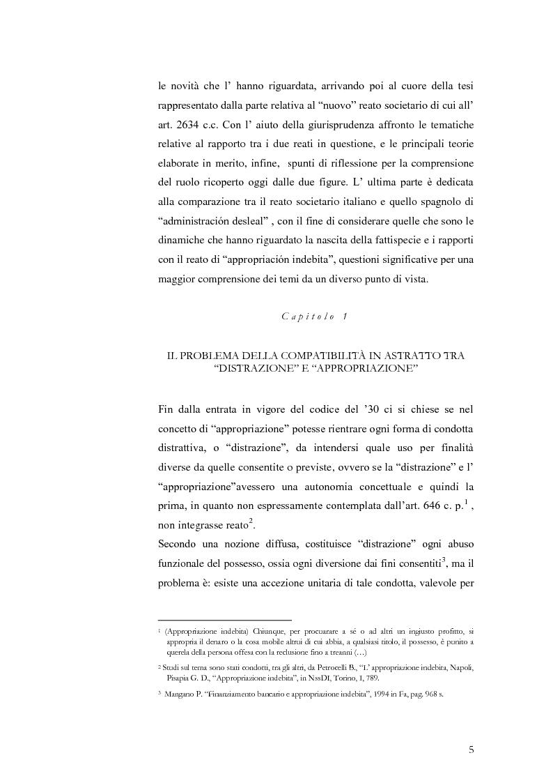 """Anteprima della tesi: Infedeltà patrimoniale e appropriazione indebita: una """"convivenza"""" difficile., Pagina 3"""