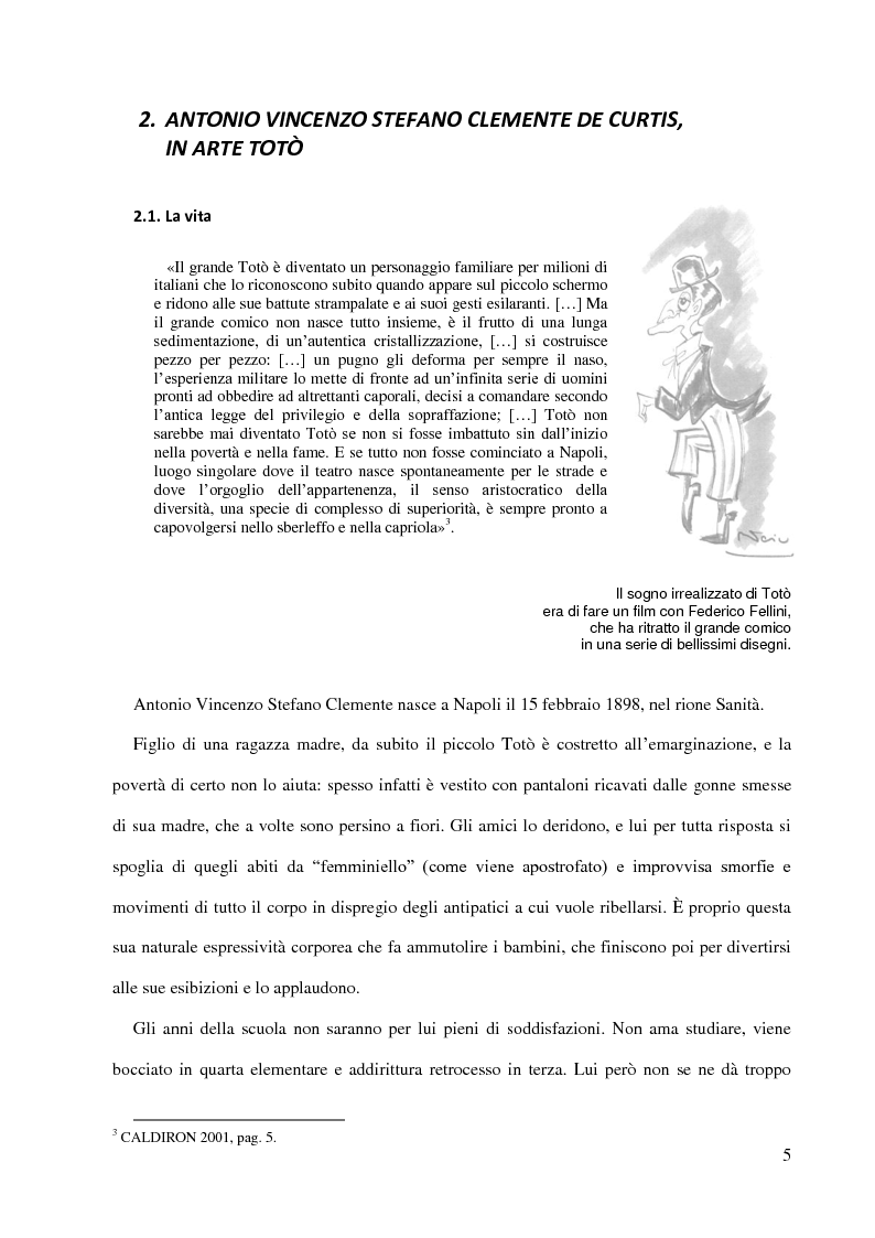 Anteprima della tesi: Totò e la funzione ludica della lingua - l'umorismo della riflessione metalinguistica e dell'ambiguità semantica, Pagina 4