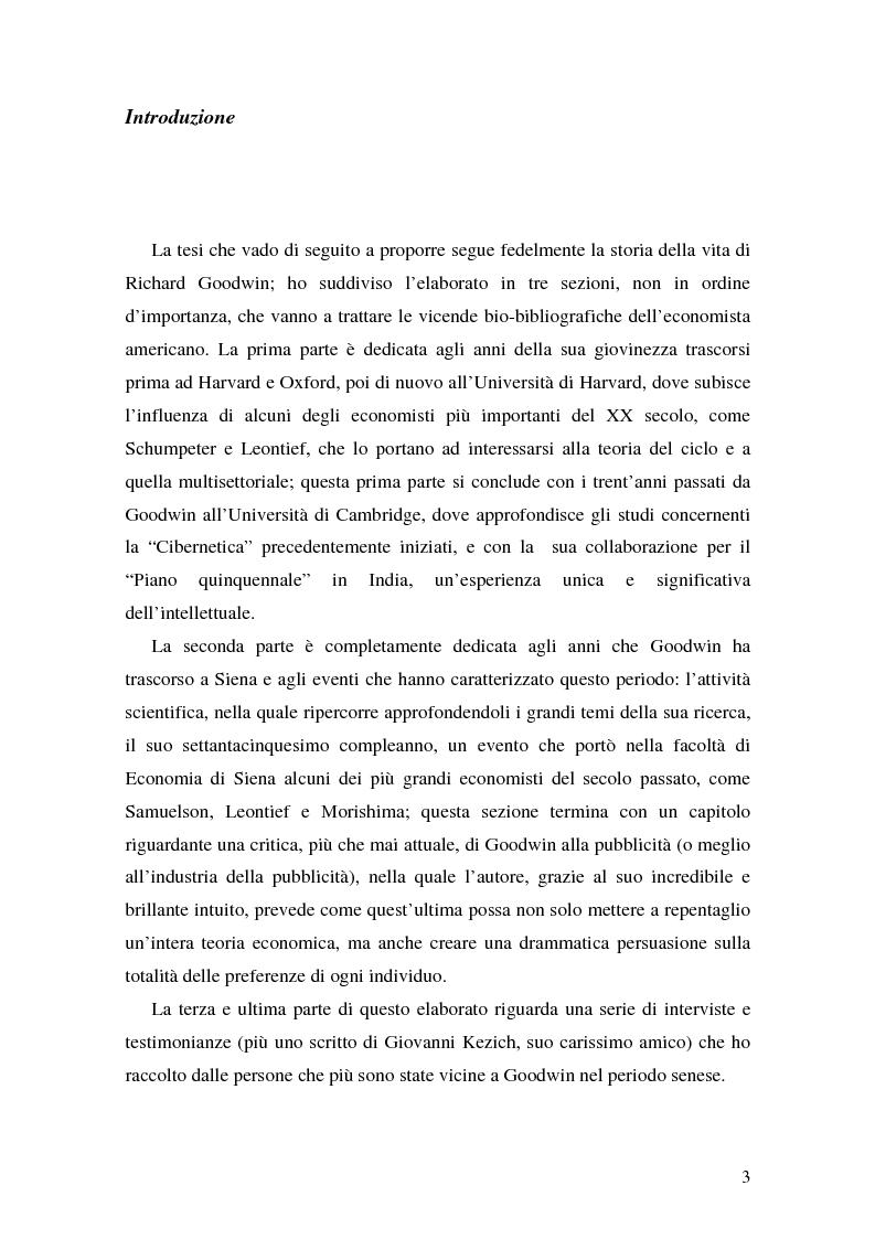 Anteprima della tesi: Richard Murphy Goodwin: l'economista a più teste, Pagina 2