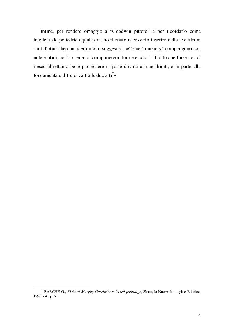 Anteprima della tesi: Richard Murphy Goodwin: l'economista a più teste, Pagina 3
