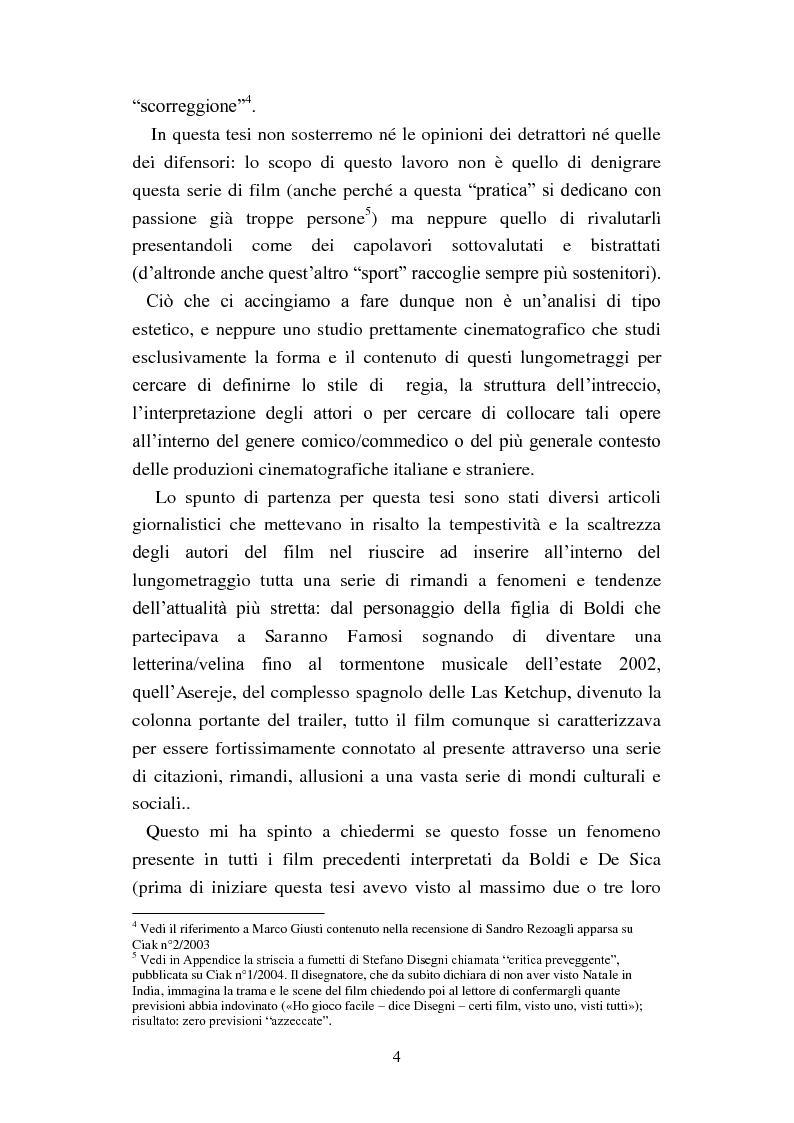 Anteprima della tesi: Il film-panettone e il presente: forme dell'intertestualità nella serie di film ''Vacanze di Natale'', Pagina 3