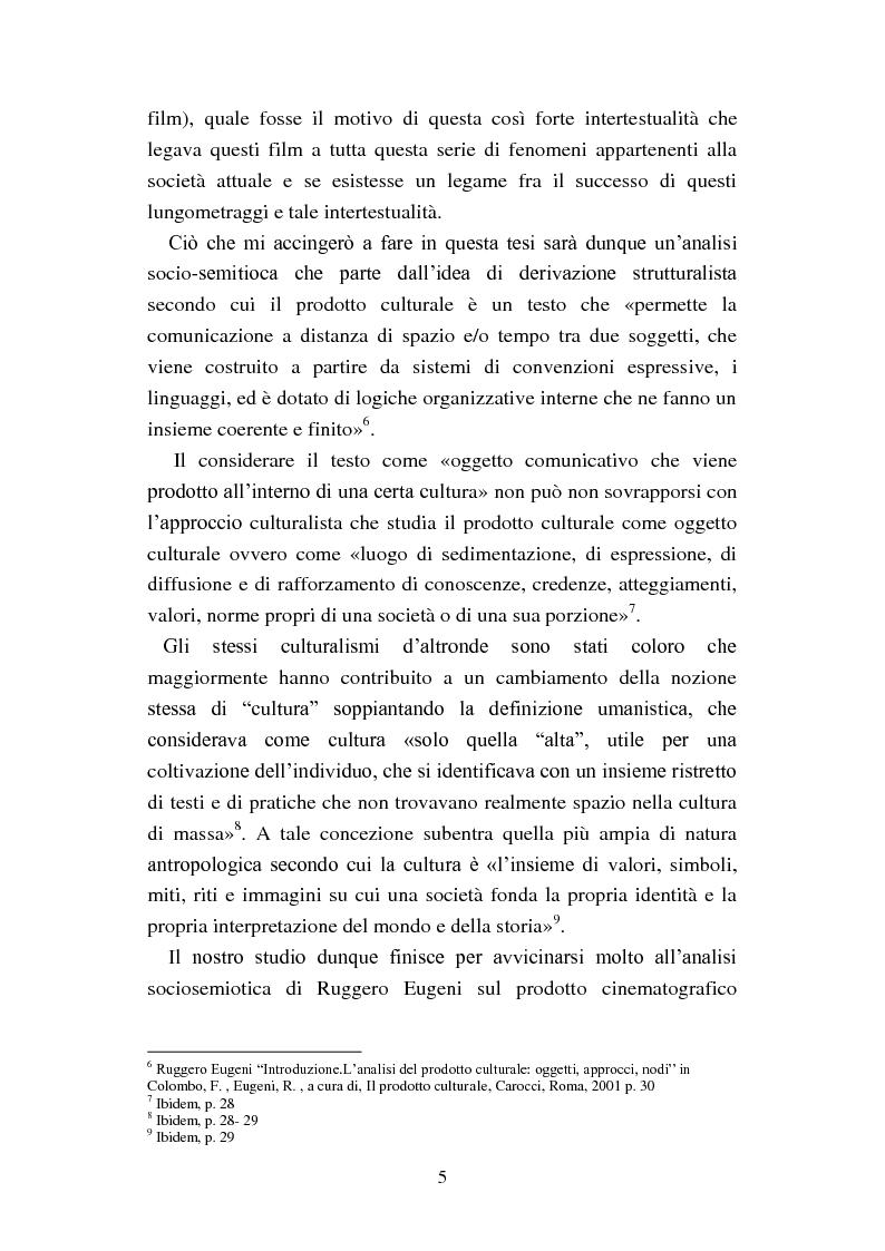 Anteprima della tesi: Il film-panettone e il presente: forme dell'intertestualità nella serie di film ''Vacanze di Natale'', Pagina 4