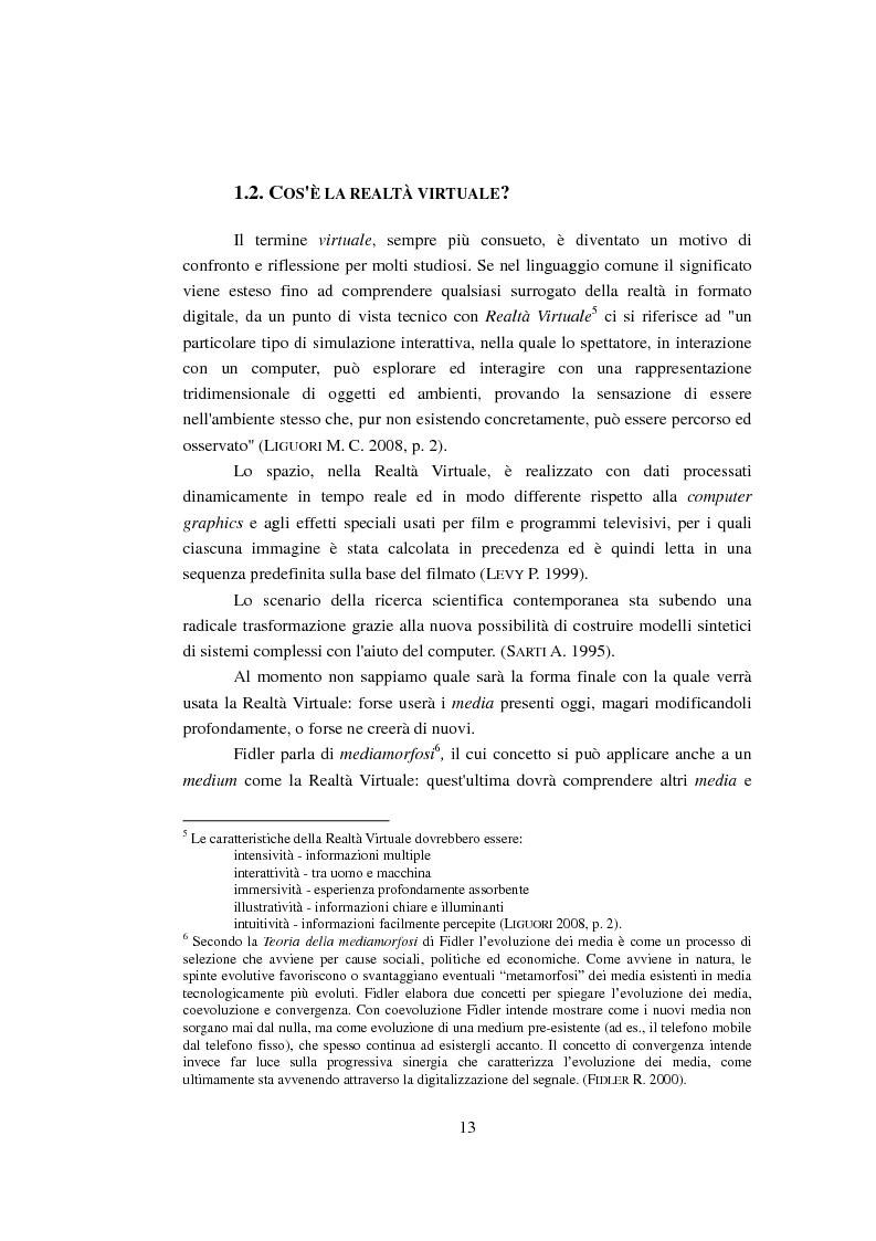Anteprima della tesi: Modellizzazione tridimensionale dello spazio archeologico: l'esempio applicativo di Rontana, Pagina 6