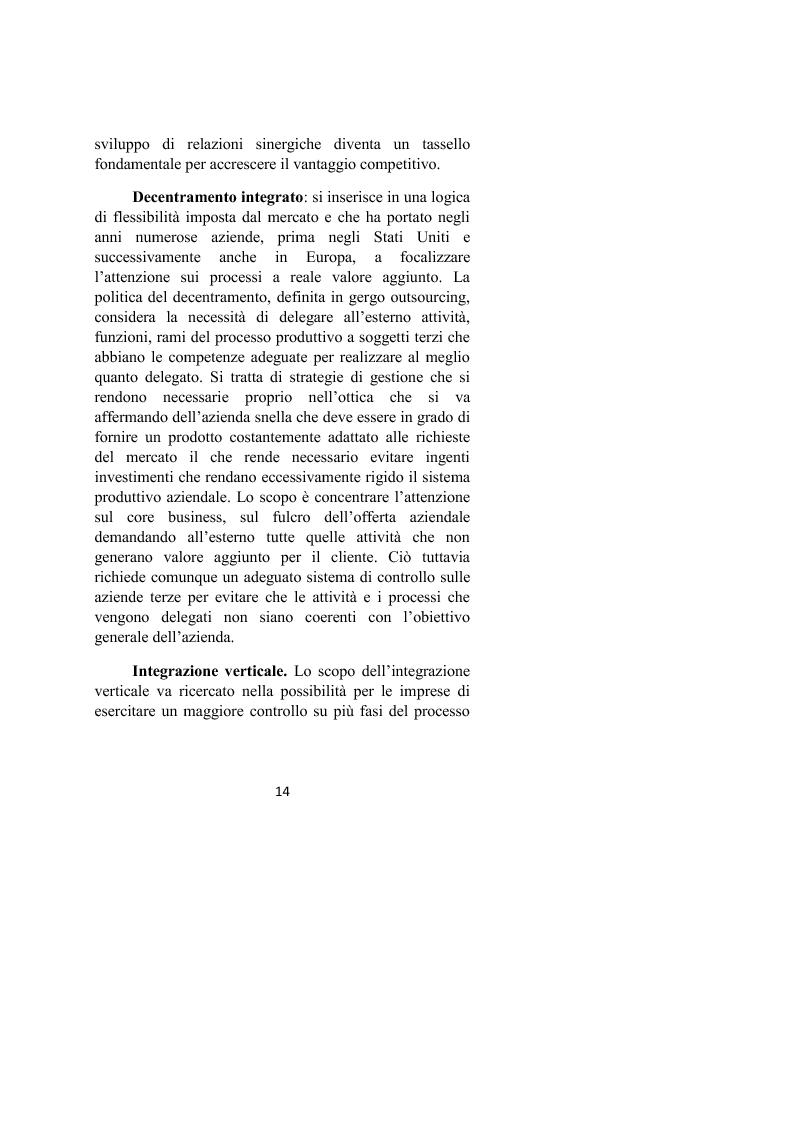Anteprima della tesi: Il controllo dei processi aziendali: l'eccellenza operativa, Pagina 12