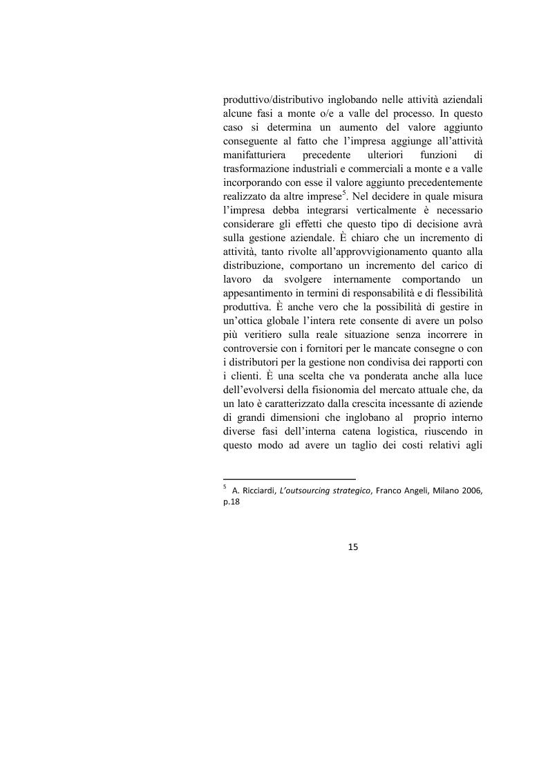 Anteprima della tesi: Il controllo dei processi aziendali: l'eccellenza operativa, Pagina 13