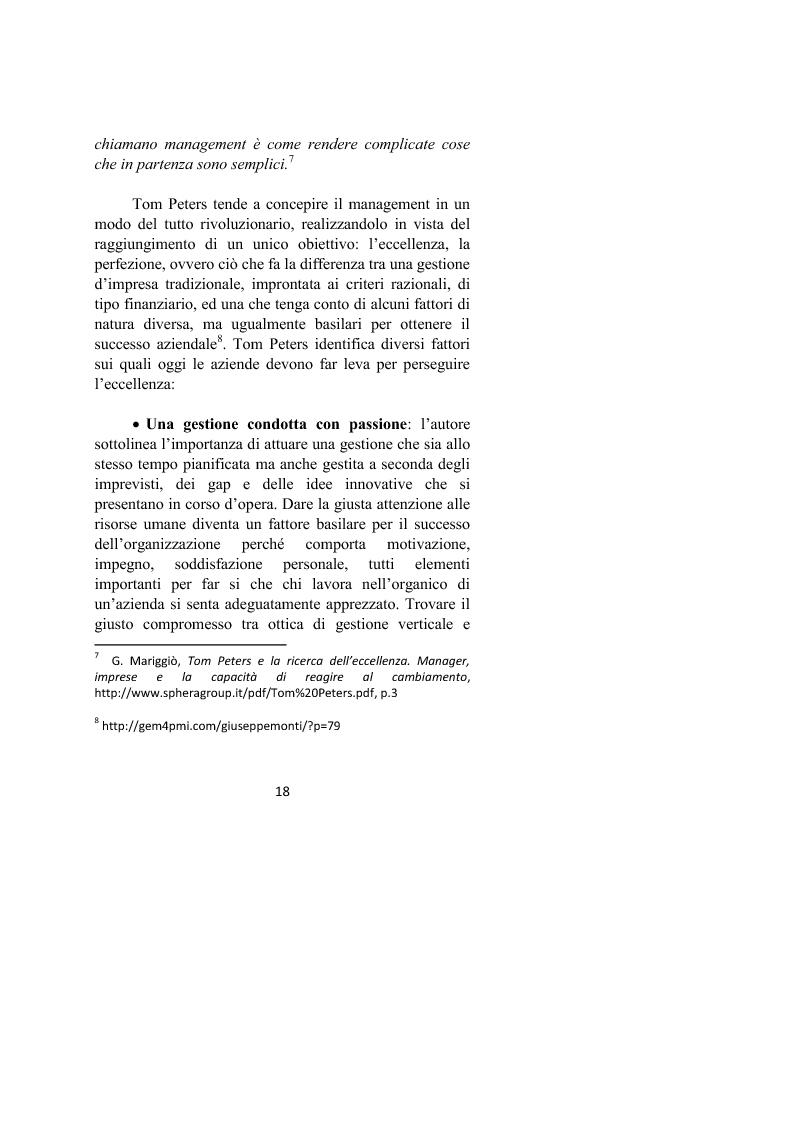 Anteprima della tesi: Il controllo dei processi aziendali: l'eccellenza operativa, Pagina 16