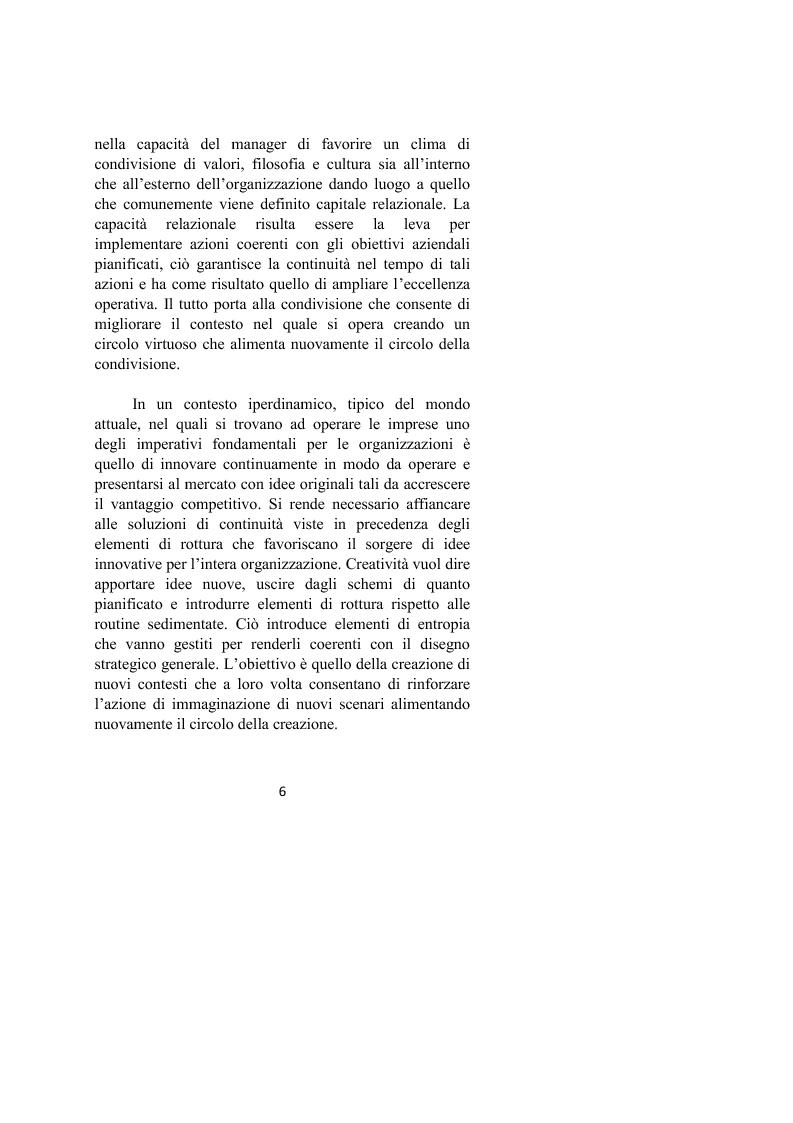 Anteprima della tesi: Il controllo dei processi aziendali: l'eccellenza operativa, Pagina 4