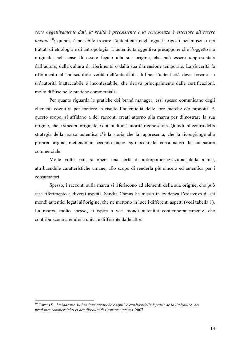 """Anteprima della tesi: Alle radici del brand """"fine"""": il caso liquirizia Amarelli, Pagina 13"""