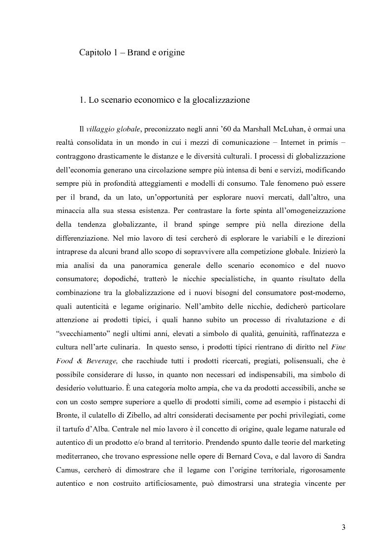 """Anteprima della tesi: Alle radici del brand """"fine"""": il caso liquirizia Amarelli, Pagina 2"""