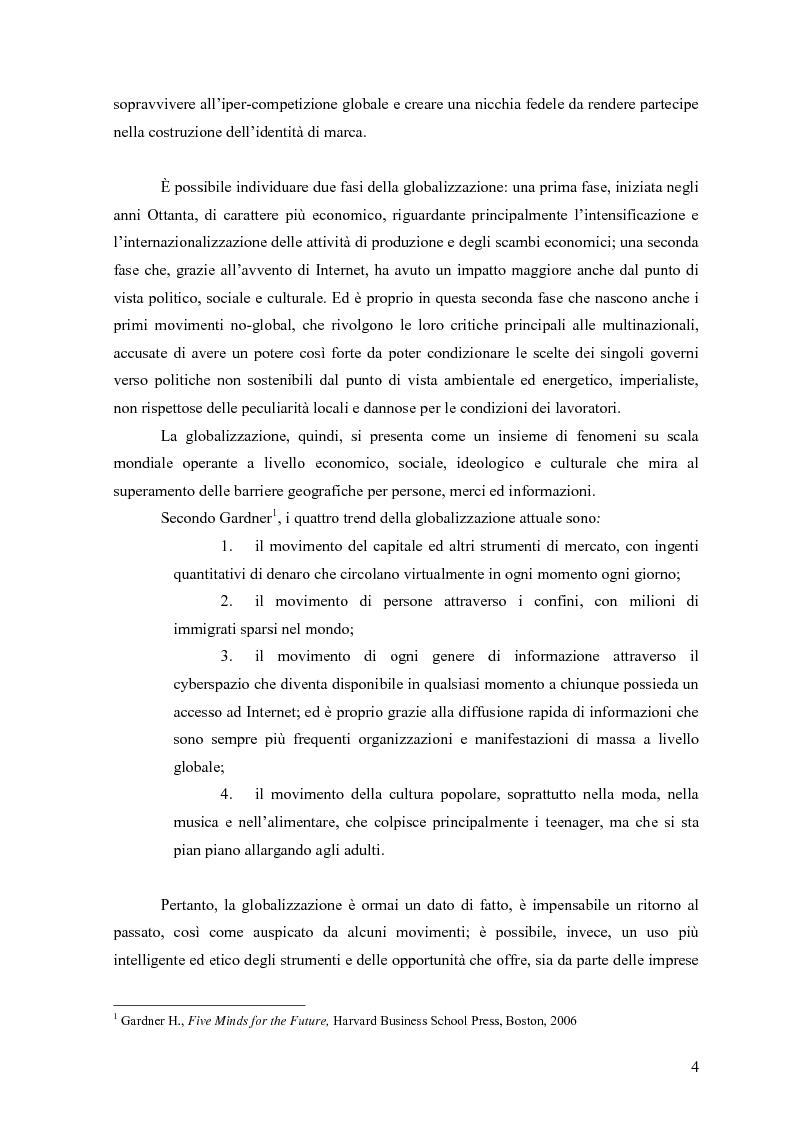 """Anteprima della tesi: Alle radici del brand """"fine"""": il caso liquirizia Amarelli, Pagina 3"""