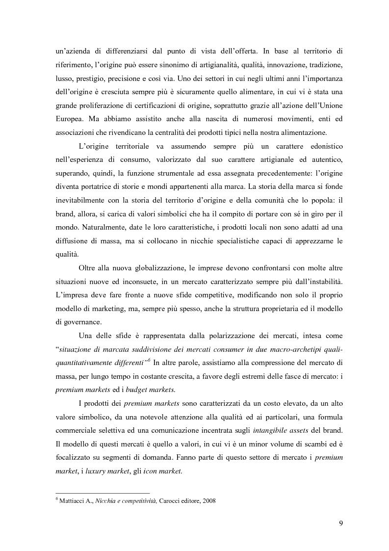 """Anteprima della tesi: Alle radici del brand """"fine"""": il caso liquirizia Amarelli, Pagina 8"""