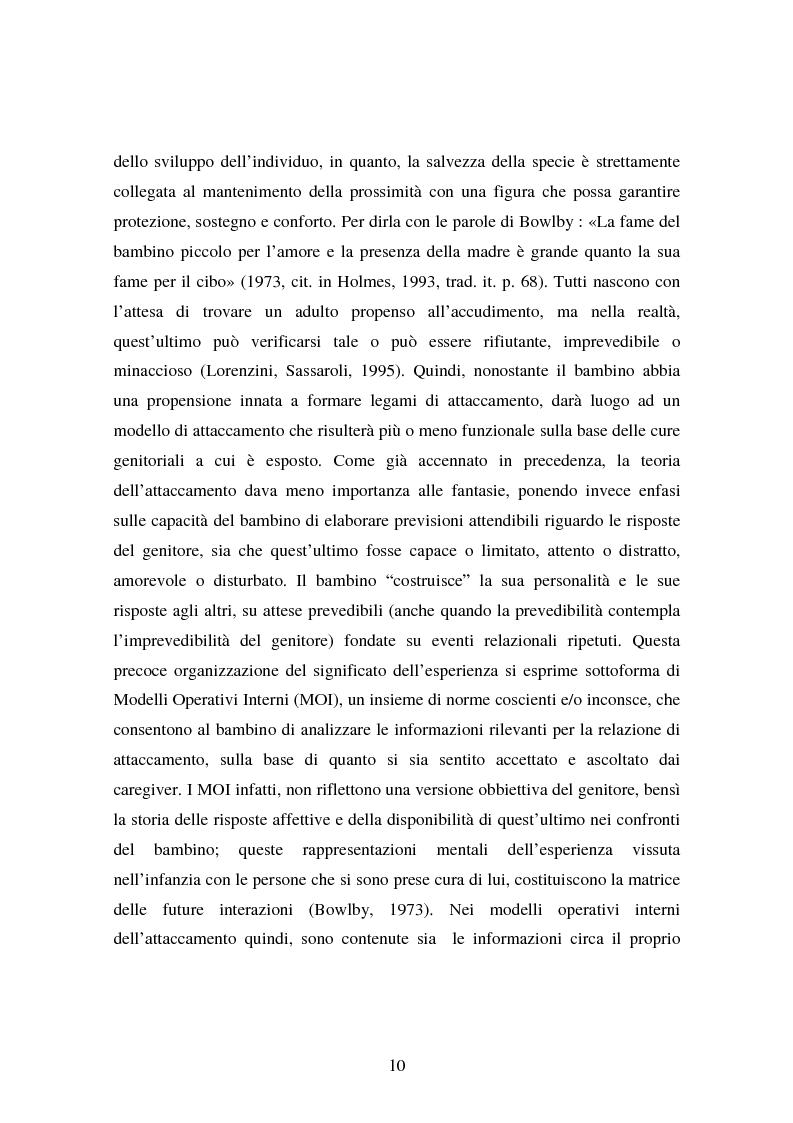 Anteprima della tesi: La genitorialità in situazioni a rischio: tossicodipendenza materna e comunità madre-bambino, Pagina 3