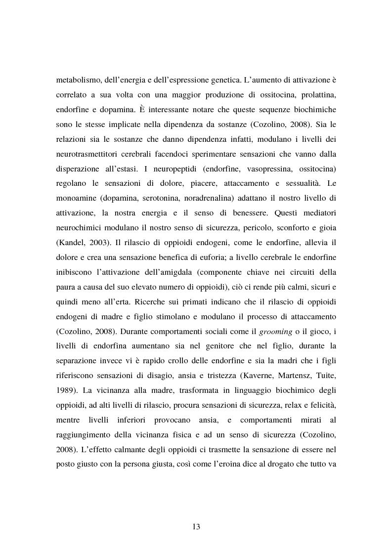 Anteprima della tesi: La genitorialità in situazioni a rischio: tossicodipendenza materna e comunità madre-bambino, Pagina 6
