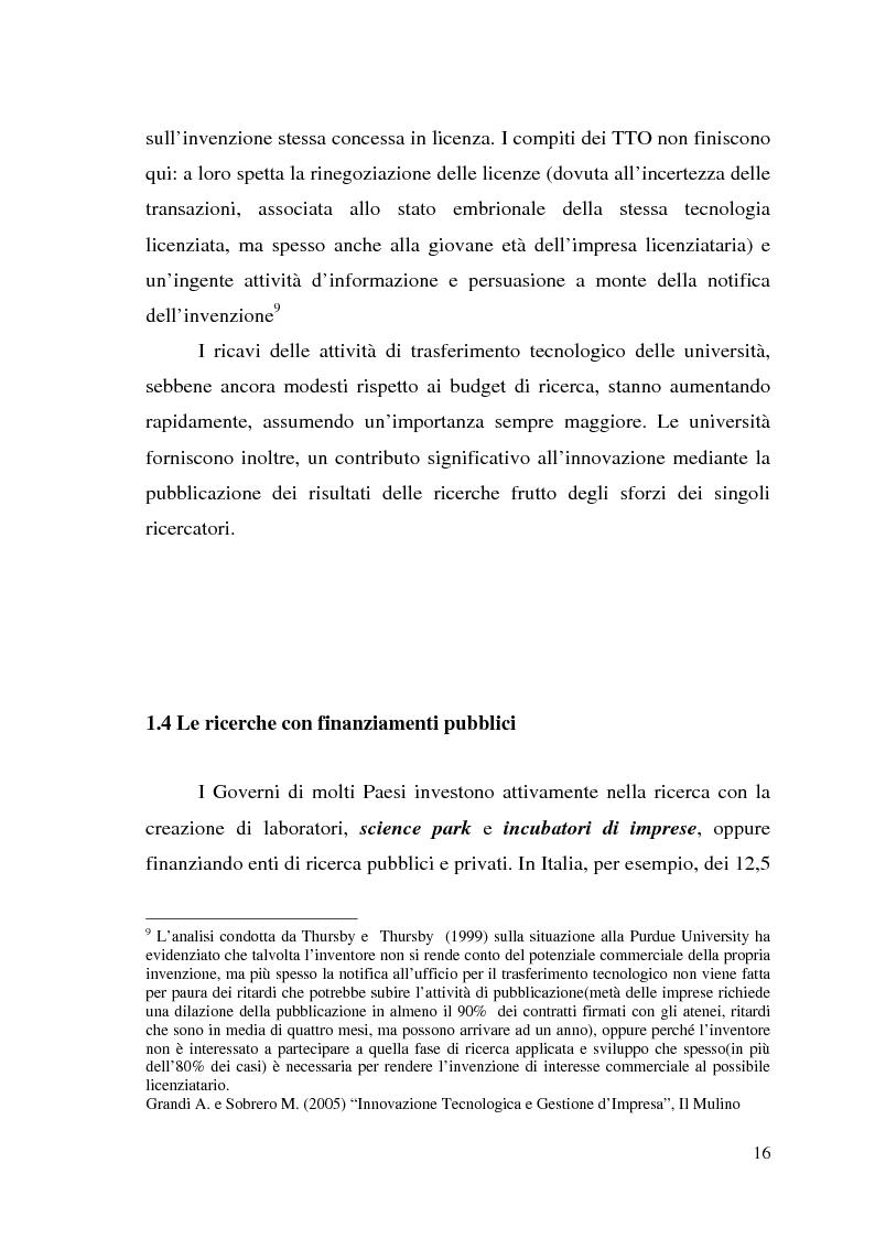 Anteprima della tesi: Innovazione come fonte di vantaggio competitivo e creazione di valore: il caso aziendale Fastweb, Pagina 14