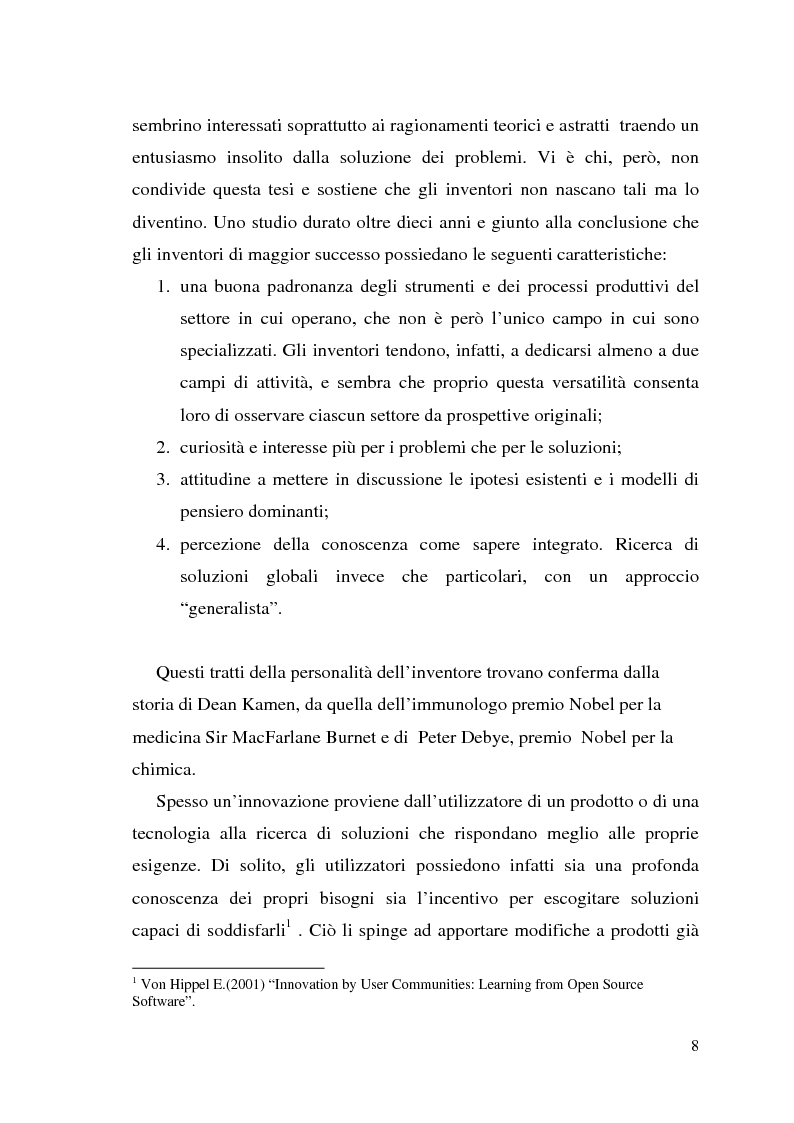 Anteprima della tesi: Innovazione come fonte di vantaggio competitivo e creazione di valore: il caso aziendale Fastweb, Pagina 6