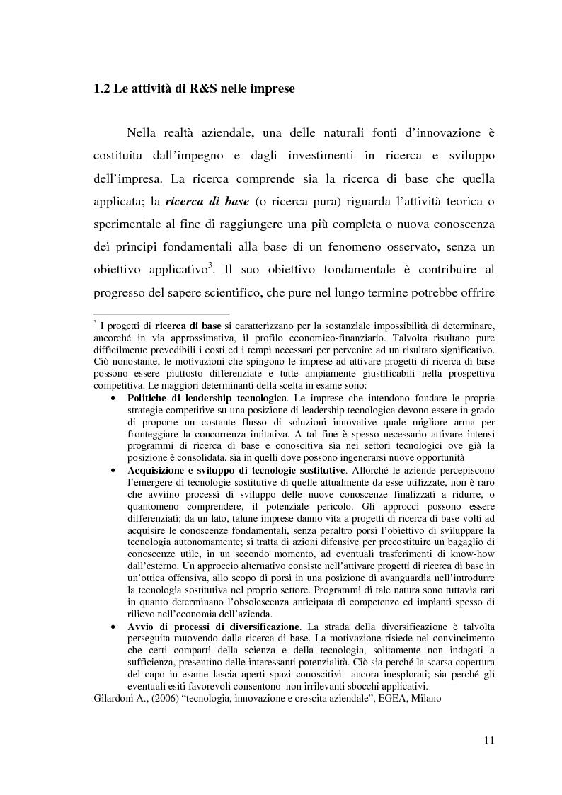 Anteprima della tesi: Innovazione come fonte di vantaggio competitivo e creazione di valore: il caso aziendale Fastweb, Pagina 9