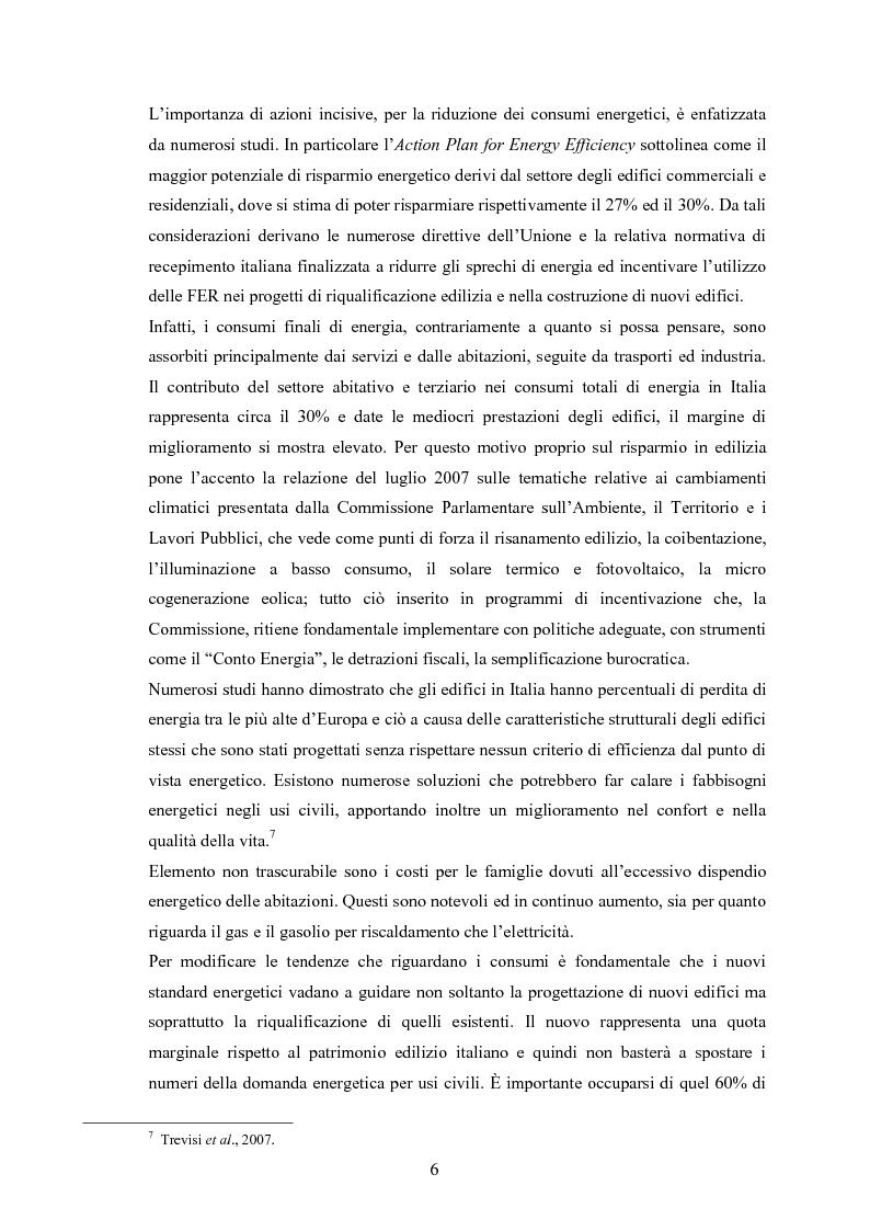 Anteprima della tesi: La riqualificazione energetica degli edifici: un'analisi costi benefici, Pagina 4