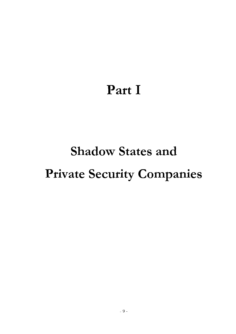 Anteprima della tesi: Diamonds for Bullets, Oil for Arms: ''Shadow State'' and Private Security Companies in Angola., Pagina 10