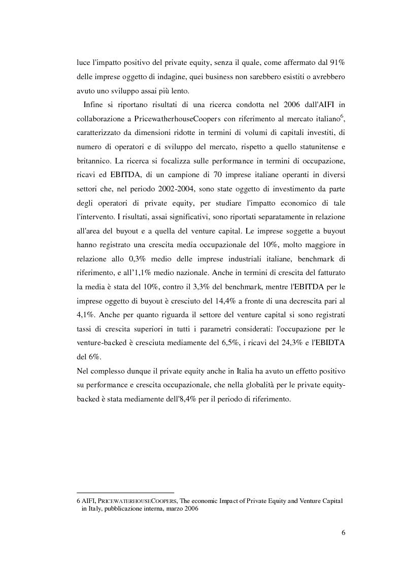 Anteprima della tesi: La ricerca del rendimento: l'impatto della crisi sul private equity, Pagina 7