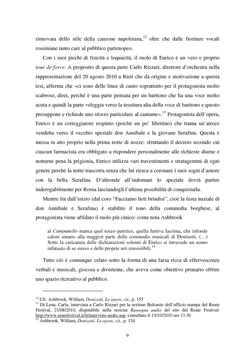 Anteprima della tesi: La messa in scena de ''Il campanello'' di Donizetti al ''Reate Festival'' di Rieti tra tradizione e tecnologie: olografia e scenografia, Pagina 8