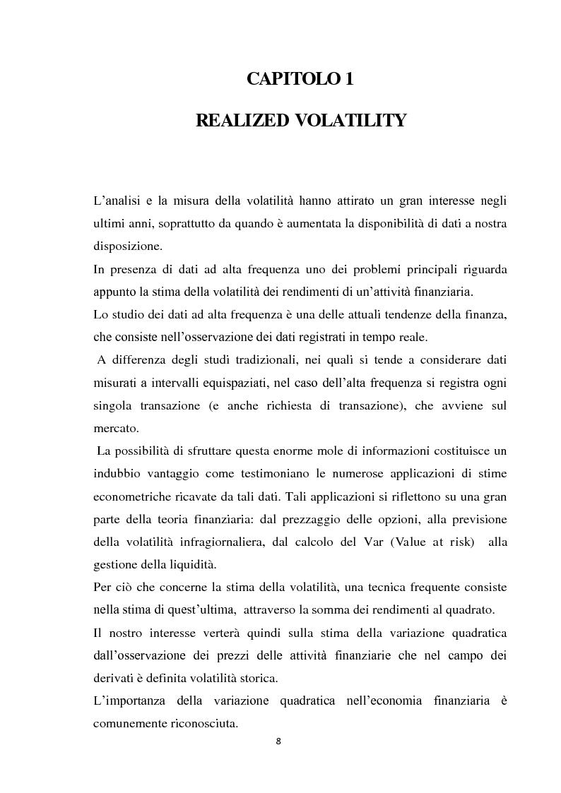 Anteprima della tesi: Credit spreads, crash di mercato e volatilità, Pagina 2
