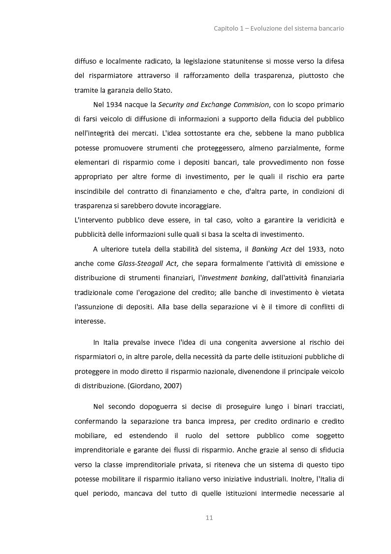 Anteprima della tesi: La gestione dei servizi bancari tra efficienza e territorialità, Pagina 8