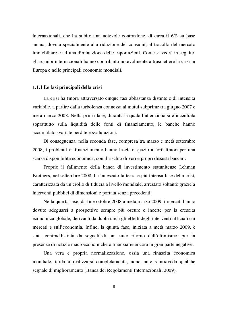 Anteprima della tesi: Il sistema produttivo italiano e il rapporto banca-impresa durante la crisi, Pagina 7