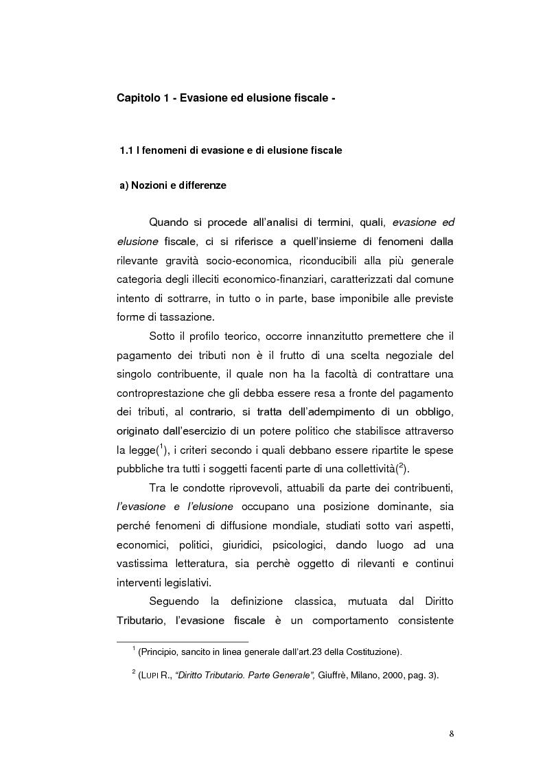 Anteprima della tesi: Paradisi Fiscali e Rapporti Tributari Internazionali, Pagina 5
