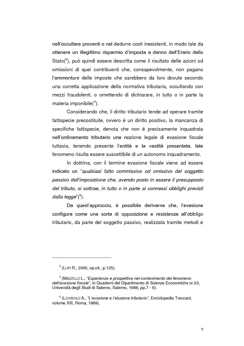Anteprima della tesi: Paradisi Fiscali e Rapporti Tributari Internazionali, Pagina 6