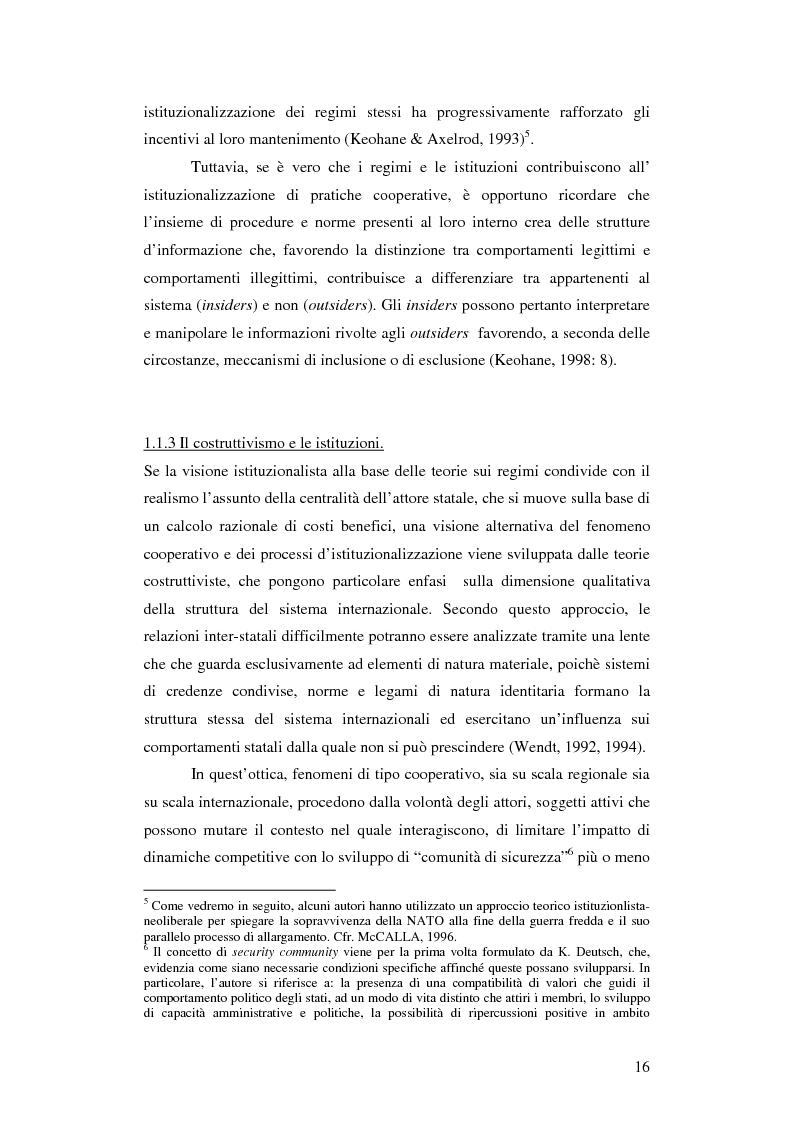 Anteprima della tesi: La gestione della sicurezza europea tra governance e frammentazione. Il ruolo delle istituzioni e il caso del Kossovo, Pagina 11