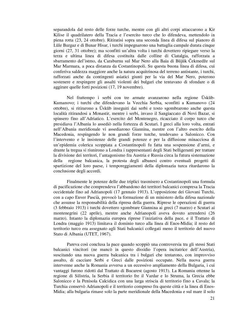 Anteprima della tesi: Kosovo. Alla scoperta di cosa celano le ceneri della guerra., Pagina 10