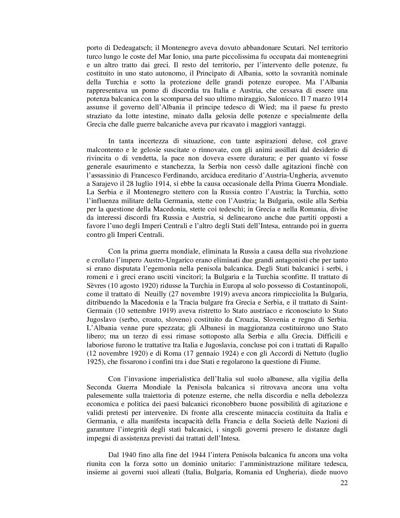 Anteprima della tesi: Kosovo. Alla scoperta di cosa celano le ceneri della guerra., Pagina 11